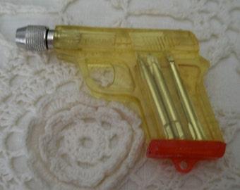 Antique Novelty Gun Screwdriver Set