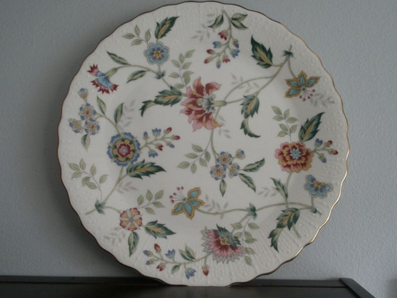 Vintage Andrea by Sadek Floral Plate