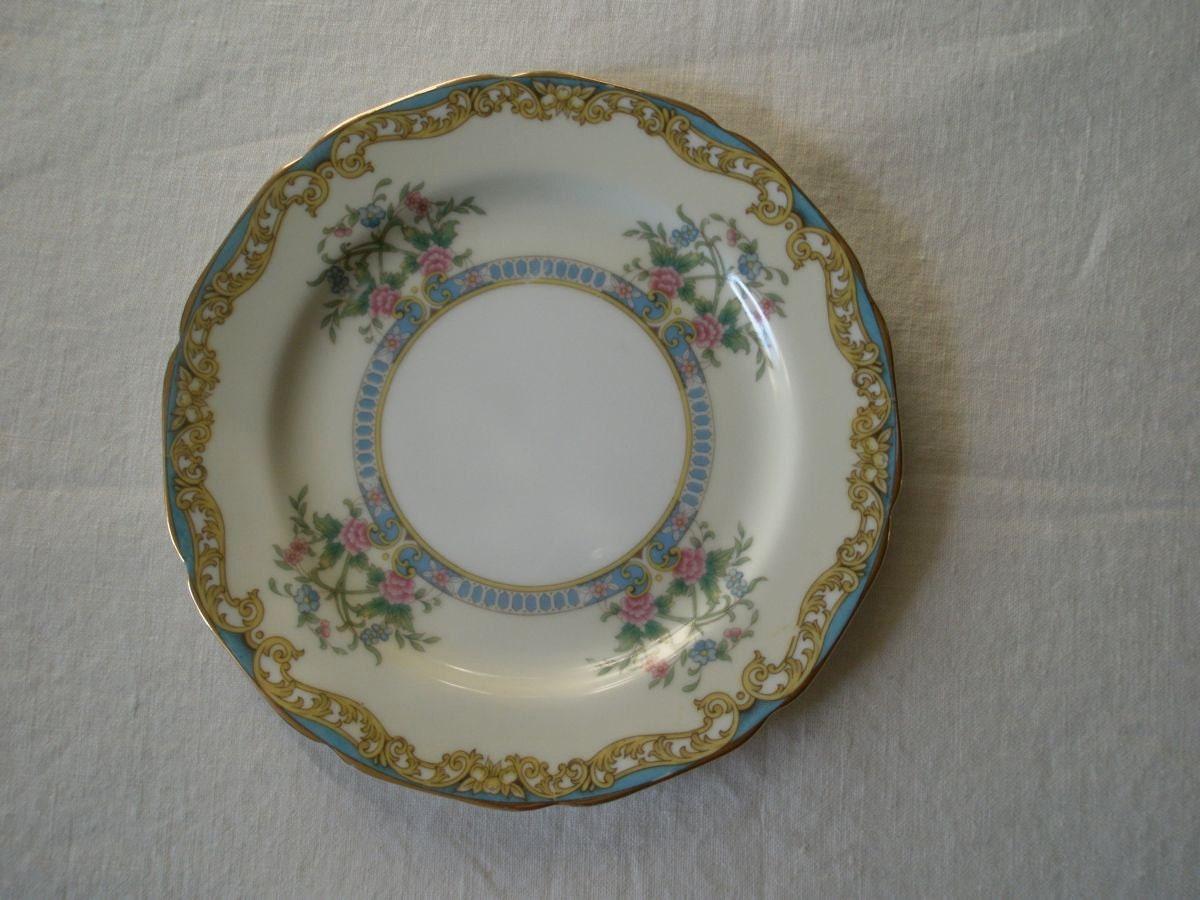 Noritake China Glenlea Pattern Cake Or Salad Plate