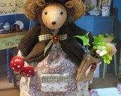 Tiggy Winkle delightful roly poly Beatrix Potter  storybook character    See also Mr.Hodge Hedgehog in my shop                     shop