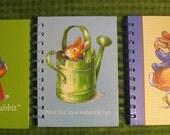 Peter  Rabbit notebooks