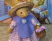 Lilly Lavender    Handmade bunny