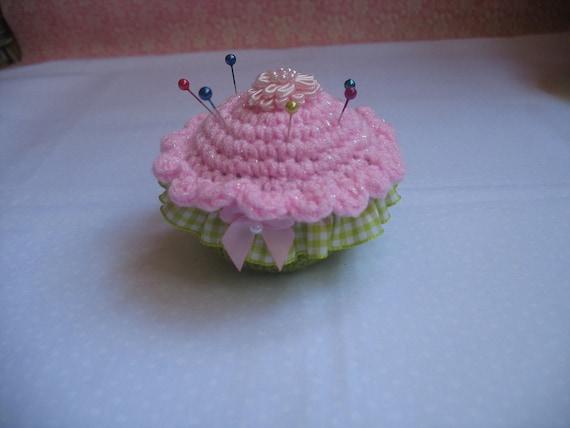 Lovely Cupcake Pincushion
