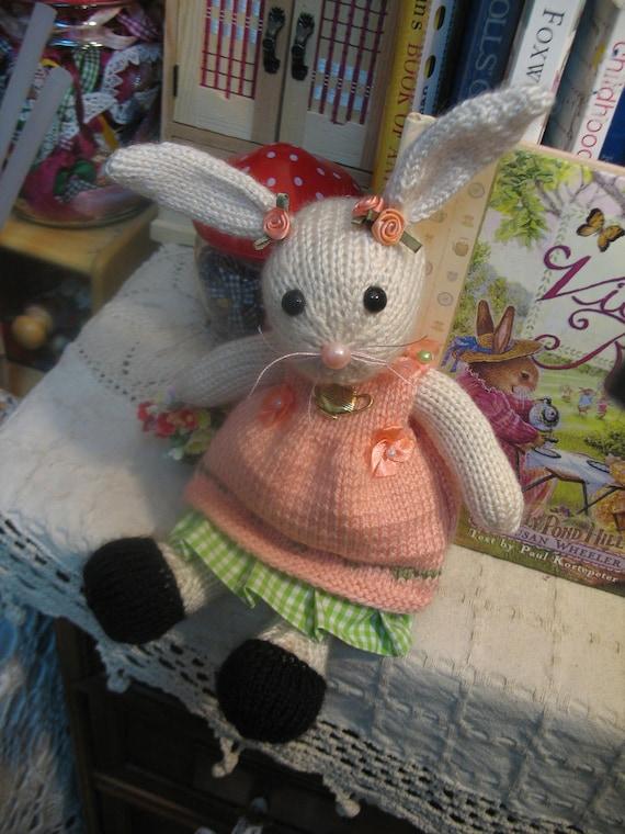 Miss Bisquit     The Tea Bunny      Tea party bunny rabbit