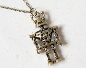 Automatic Repair - Robot Necklace (N276)