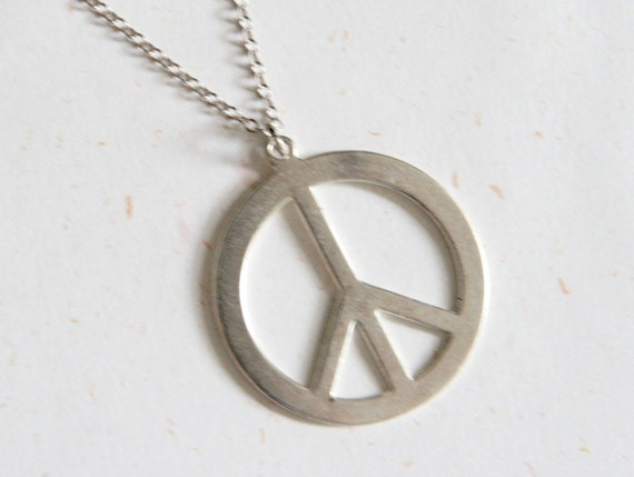 Peace Necklace (N144)