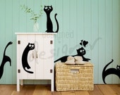 Cats are Everywhere - dd1026 Removable Graphic Wall Decal