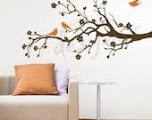 Vinyl Wall Sticker Decal Art- 5ft Blooming Branch - dd1005