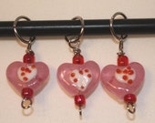 Sweet Heart Stitch Markers