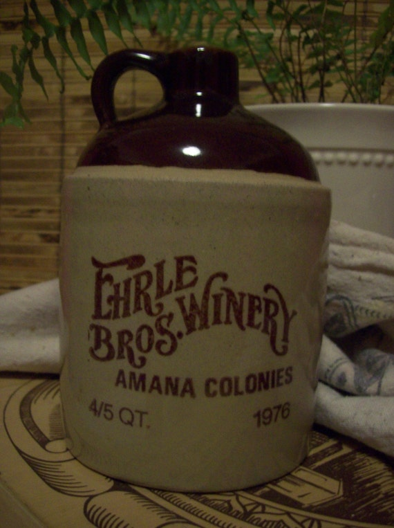1976 Wine Jug Ehrle Bros