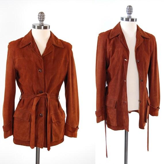 Vintage 50s chocolate Deerskin leather jacket / California Western wear / Ultra SOFT