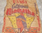 Hiawatha Potatoes Burlap Sack