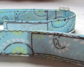 Adjustable Velcro Belt for  Kids Children Toddlers in Light Blue Paisley