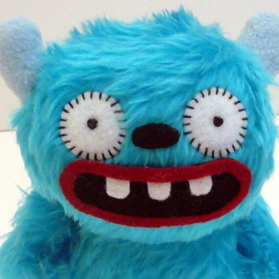 Sheldon the blue monster