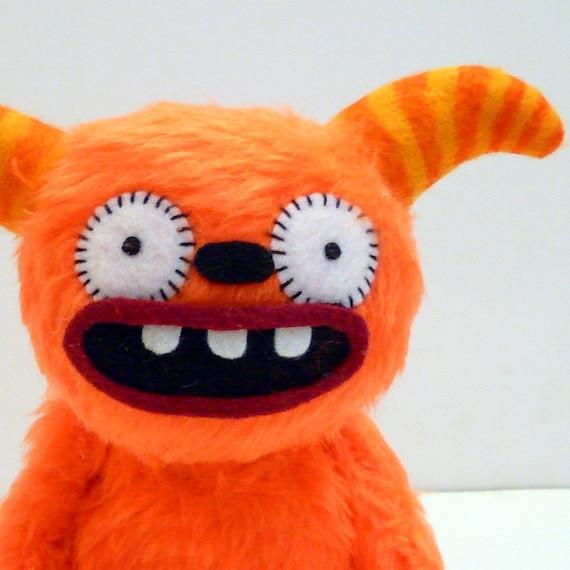 Ferguson the orange monster