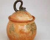 Lidded Jar in Bittersweet