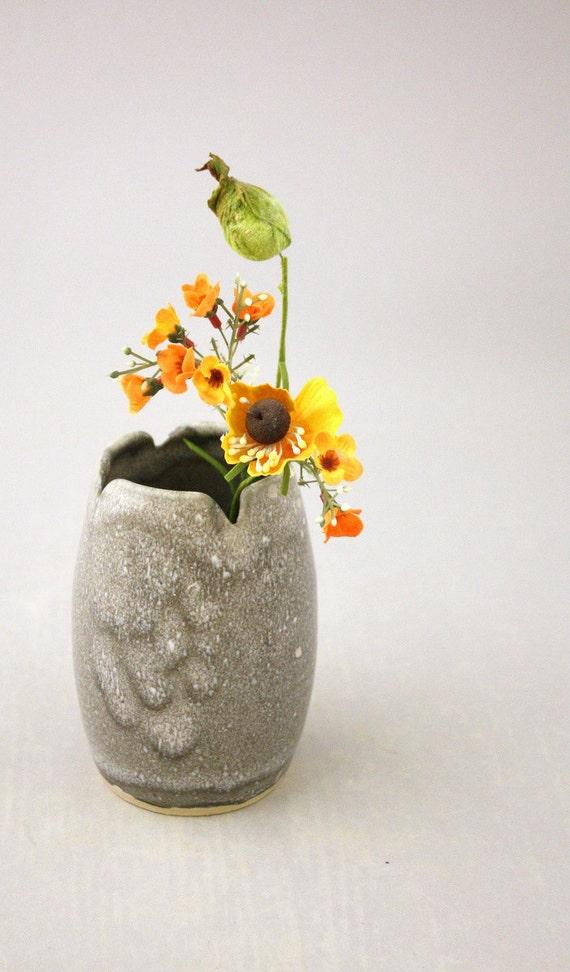Small Bud Vase in Granite by Nstarstudio