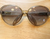 Art Deco Inspired Vintage Christian Dior Sunglasses