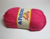 Patons Astra Yarn - Hot Pink (3 Balls)
