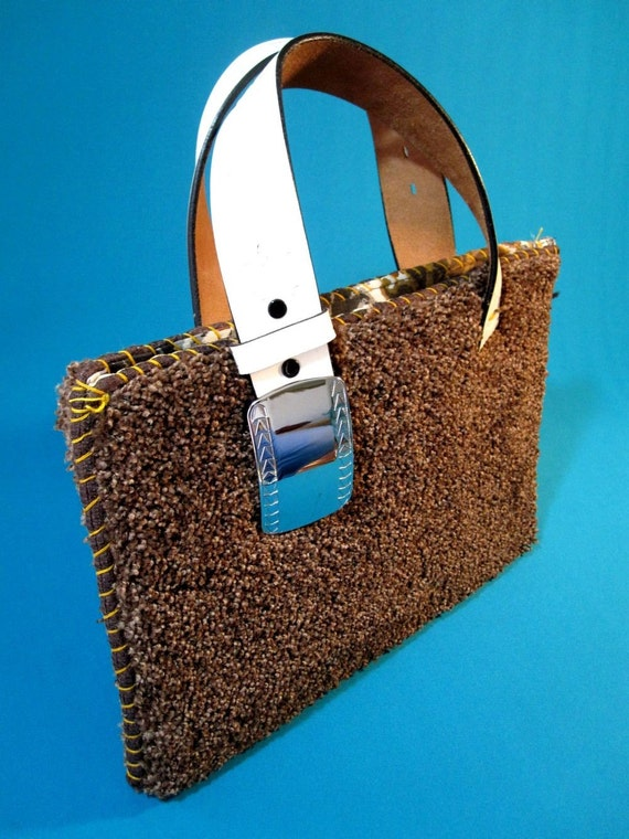 Tasty Brown Carpet Purse