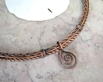 copper neck wire