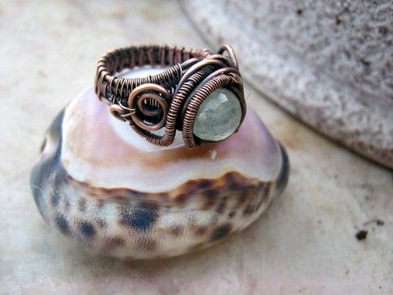 prehnite ring in copper