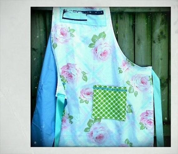 pretty barbecue apron