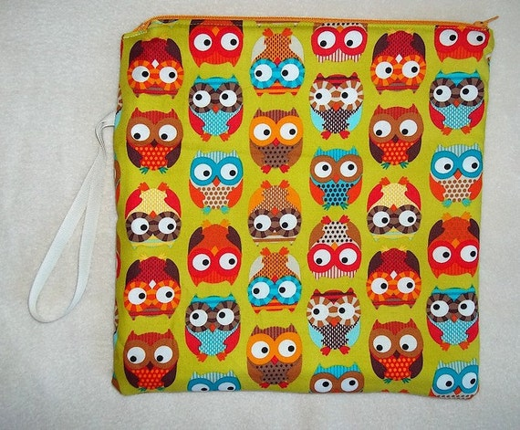 Large Hanging Wetbag Happy Owls