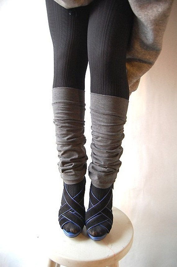PLUS SIZE LEG WARMERS