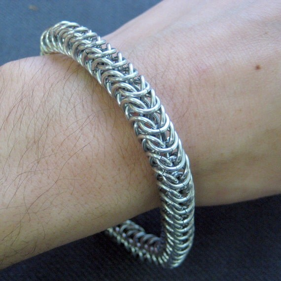 Chainmaille Box Chain Bracelet
