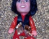 Vintage Monkees Davy Jones Remco Fingerding Doll from 1970