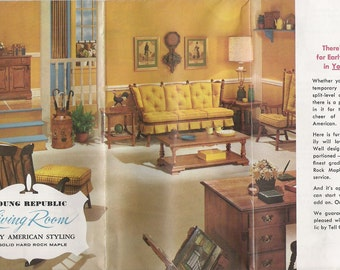 Two Vintage 1960s Furniture Catalogs