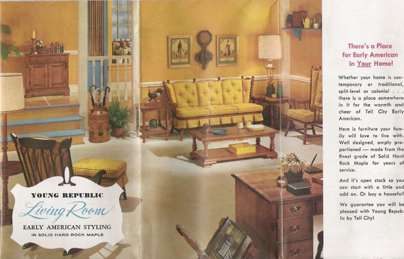 Items Similar To Two Vintage 1960s Furniture Catalogs On Etsy