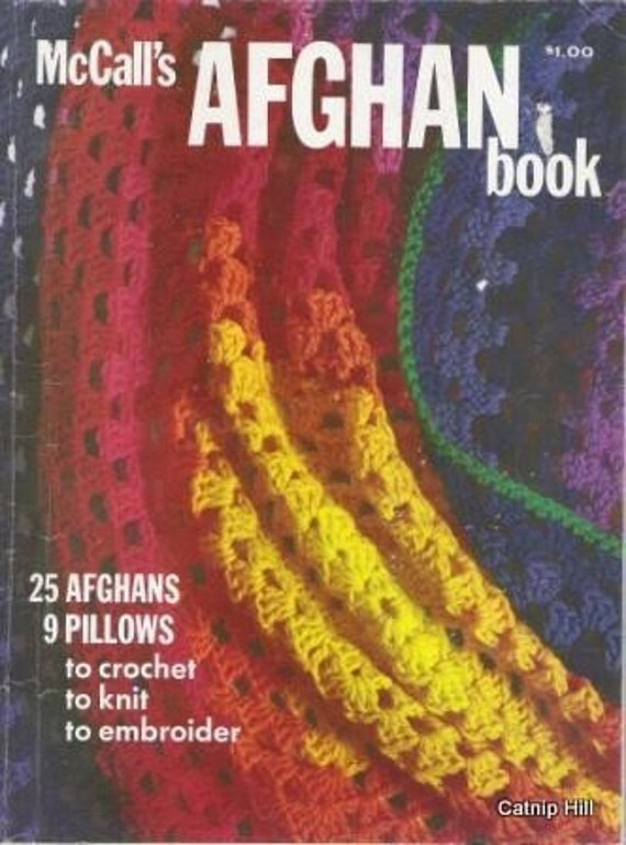 McCalls Afghan Book from 1973