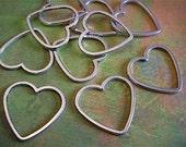20 - Antique Silver - Heart Charm (ASHC)