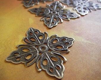 20 - Antique Bronze - Flower Spacer Bead (ABFSB)
