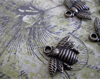 8- Antique Bronze- Bumble Bee Charm (ABBC)