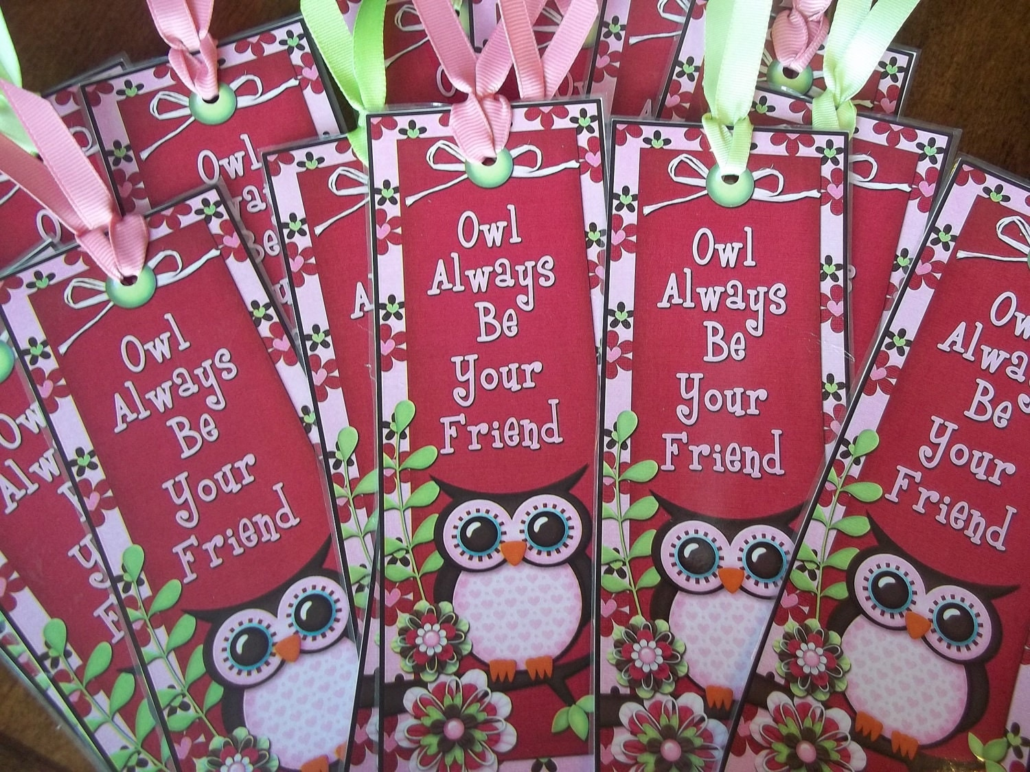 Owl Always Be Your Friend Printable Bookmarks