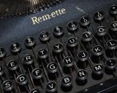 Vintage Remington Remette Typewriter with Case
