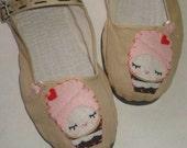 Sz 10 CupCake Marie Antoinette Maryjane shoes
