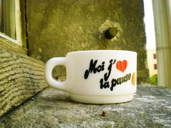 I Love Coffee Breaks // Espresso Cup - arcopal