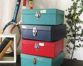 Collection of 4 Document Boxes- Classic Vintage