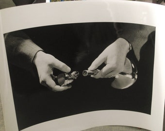 Photograph , Antique Photo , Steel Mill Photo , Industrial Photo , Black and White , Hands , Industrial , Mid-Century , Promo Photos