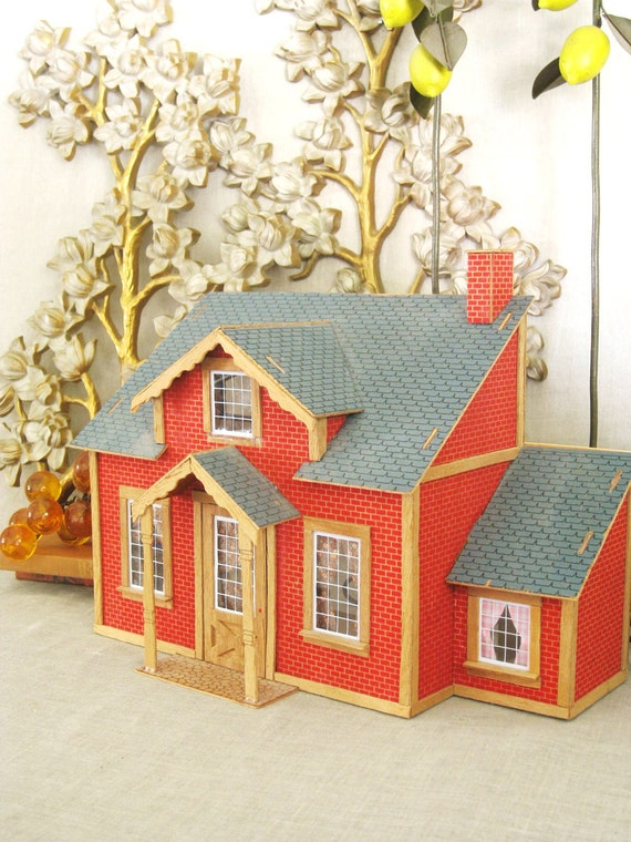 RESERVEDBONNIE-Vintage Doll House- Vintage Child