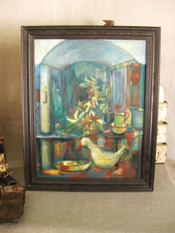 Vintage Mid-Century Still Life - Vintage Art Gallery