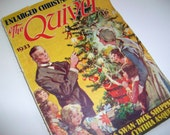Vintage Christmas Magazine - 1930s, The Quiver