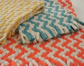 Deposit for Chevron braided rug made from Organic cotton