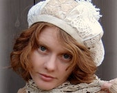 Lacy Ski Hat - Reserved for Mary Ann