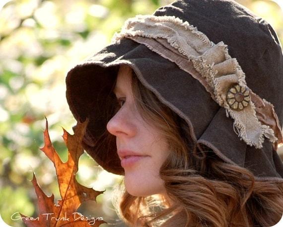 Rustic Cloche Hat