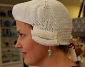 Knit A Powdered Wig:  PDF Pattern